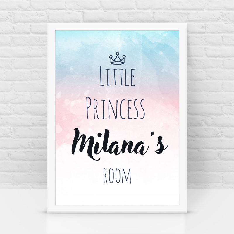 Princess Name frames