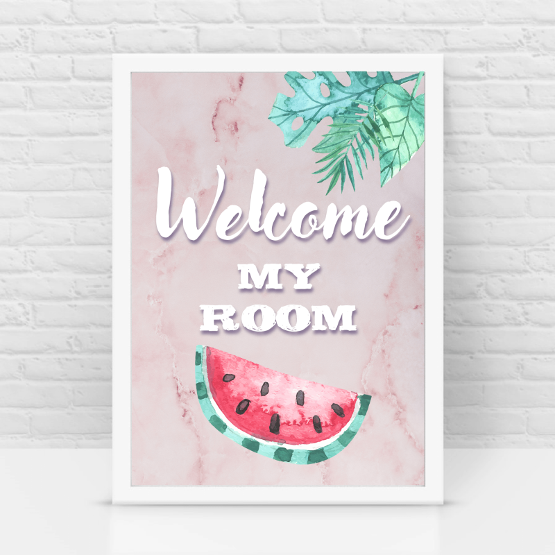Welcome my room