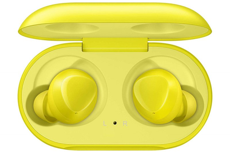 Samsung Galaxy Buds 2019, Bluetooth True Wireless Earbuds (Wireless Charging Case Included), (International Version) (Yellow)